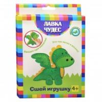 """Сшей игрушку """"Динозаврик"""" с пищалкой внутри,"""