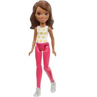 "Mattel Barbie FHV56 Барби Кукла ""В движении"" Polka"