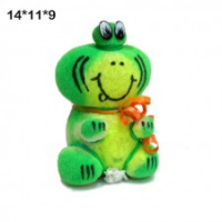 Декорат.растение-игрушка Лягушка