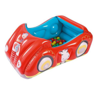Игровой центр Машина Bestway Fisher Price, +25 шаров, от 2+ (93520) (119*79*51 см)