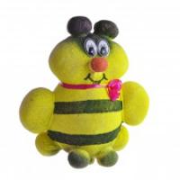 Декорат.растение-игрушка Пчелка